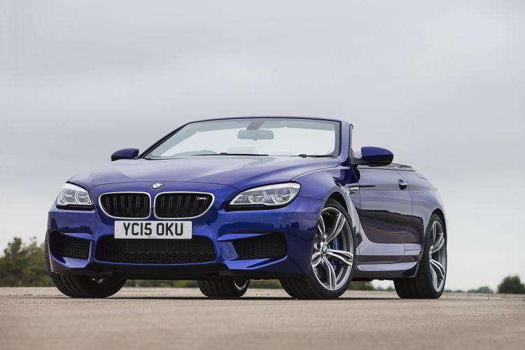 BMW M6 Cabriolet UK-spec F12 2015 cars wallpaper