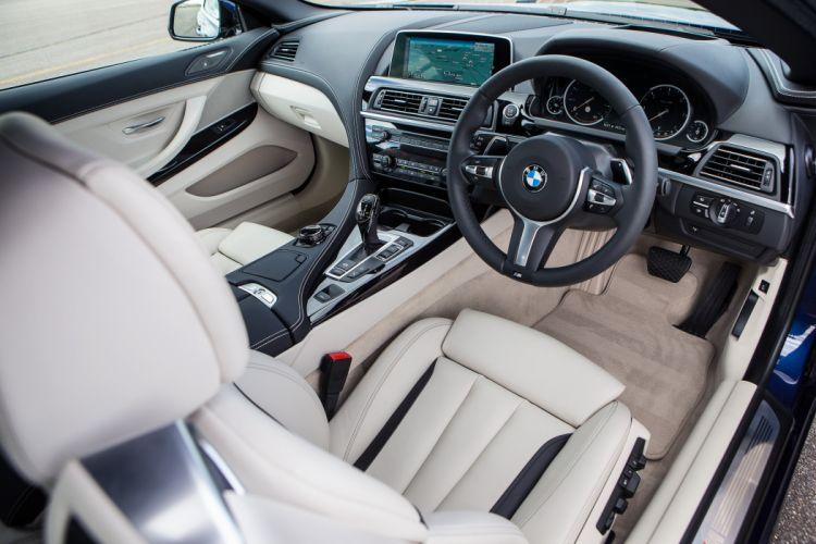 BMW 640d Cabrio M Sport UK-spec F12 cars 2015 wallpaper