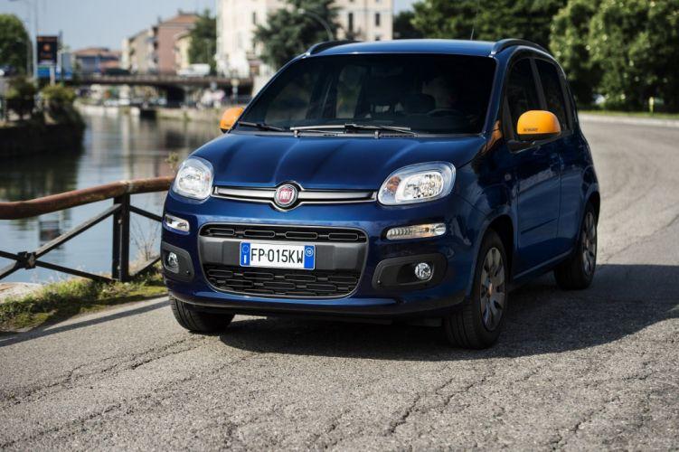 Fiat Panda K-Way 2015 cars blue limited wallpaper