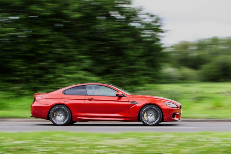 BMW-M6 Coupe UK-spec F13 2015 cars red wallpaper