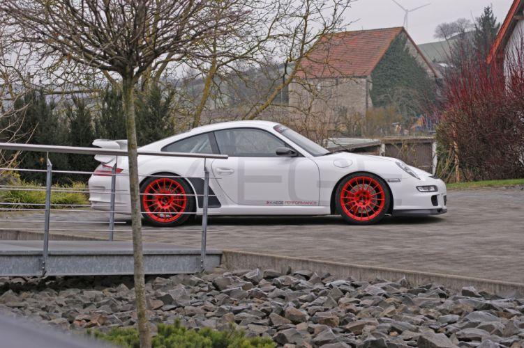 2015 Kaege Porsche 997 GT3 Clubsport white modified wallpaper