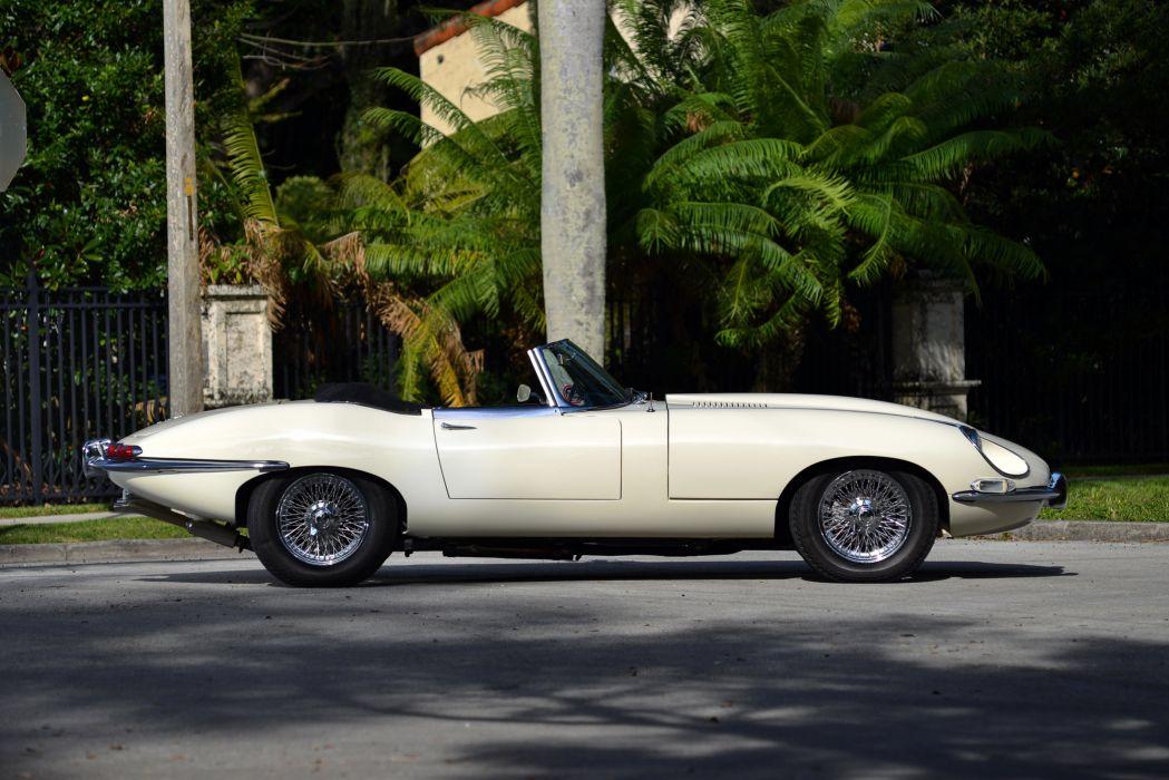 Jaguar E-Type Open Two Seater Series-I 1967 classic cars  wallpaper