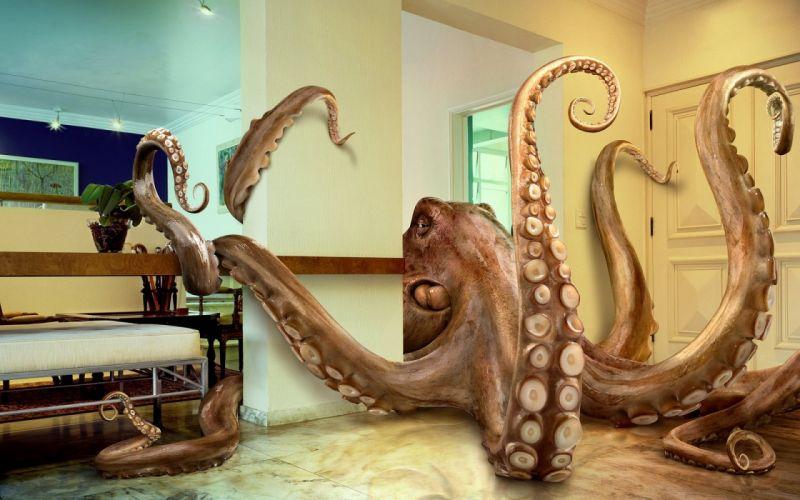 fantasy original art artistic artwork sea ocean creature monster f wallpaper