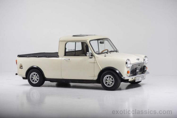 1970 mini austin morris pickup truck cars classic wallpaper