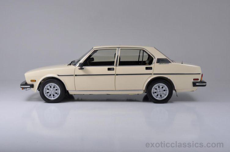 1979 Alfa Romeo Sport Sedan classic cars wallpaper