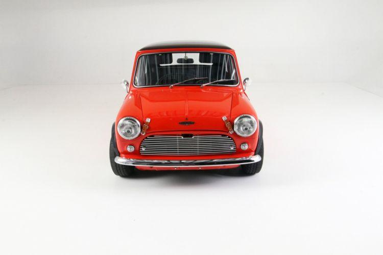 1965 Austin Mini Cooper-S cars classic red wallpaper