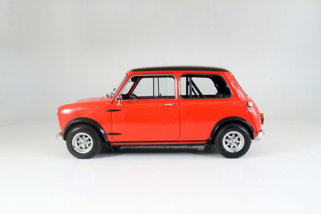 1965 Austin Mini Cooper-S cars classic red wallpaper