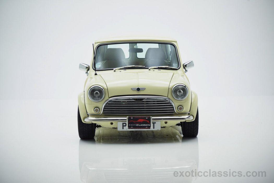 1979 Austin Mini Countryman Estate cars classic white wallpaper