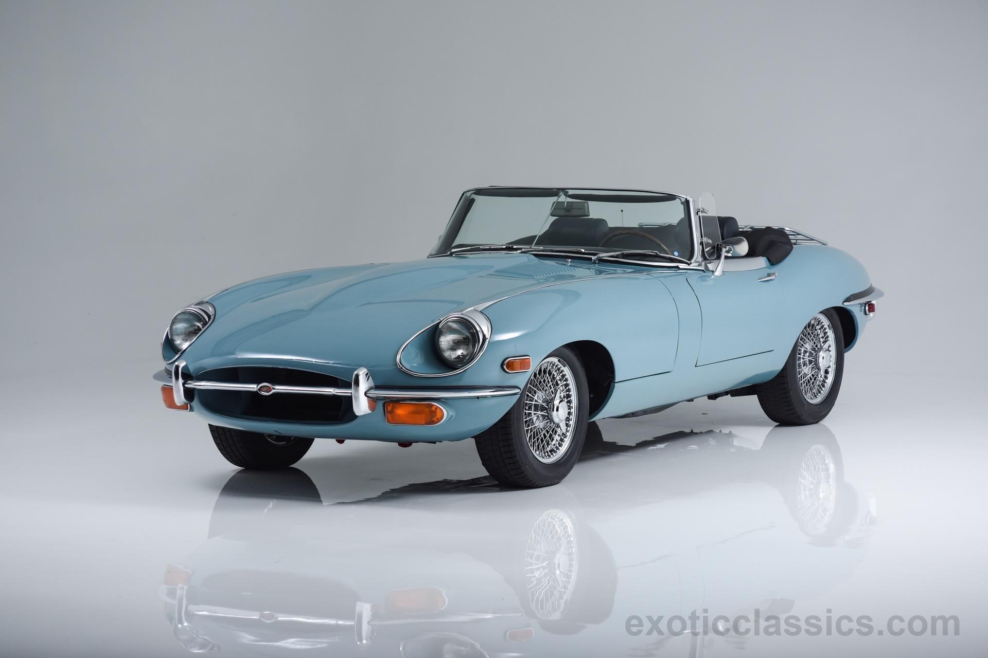 1969 Jaguar Xke Convertible Cars Classic Blue Wallpaper 1920x1280 701892 Wallpaperup