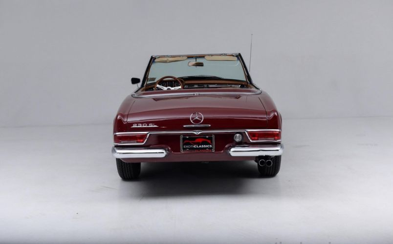 1967 Mercedes Benz 230-SL Roadster classic cars wallpaper