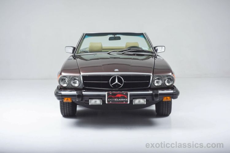 1980 Mercedes 450-SL Roadster cars classic wallpaper