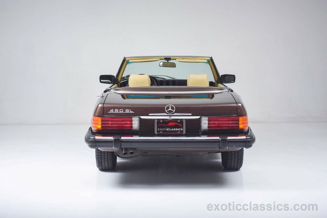 1980 Mercedes 450-SL Roadster cars classic wallpaper
