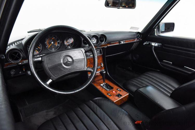1988 MercedesBenz 560-SL Roadster cars classic black wallpaper