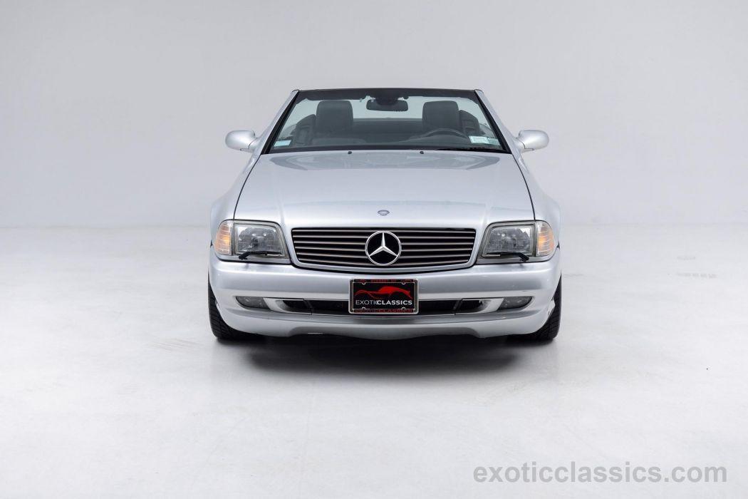 2001 MERCEDES SL 500 cars roadster silver wallpaper