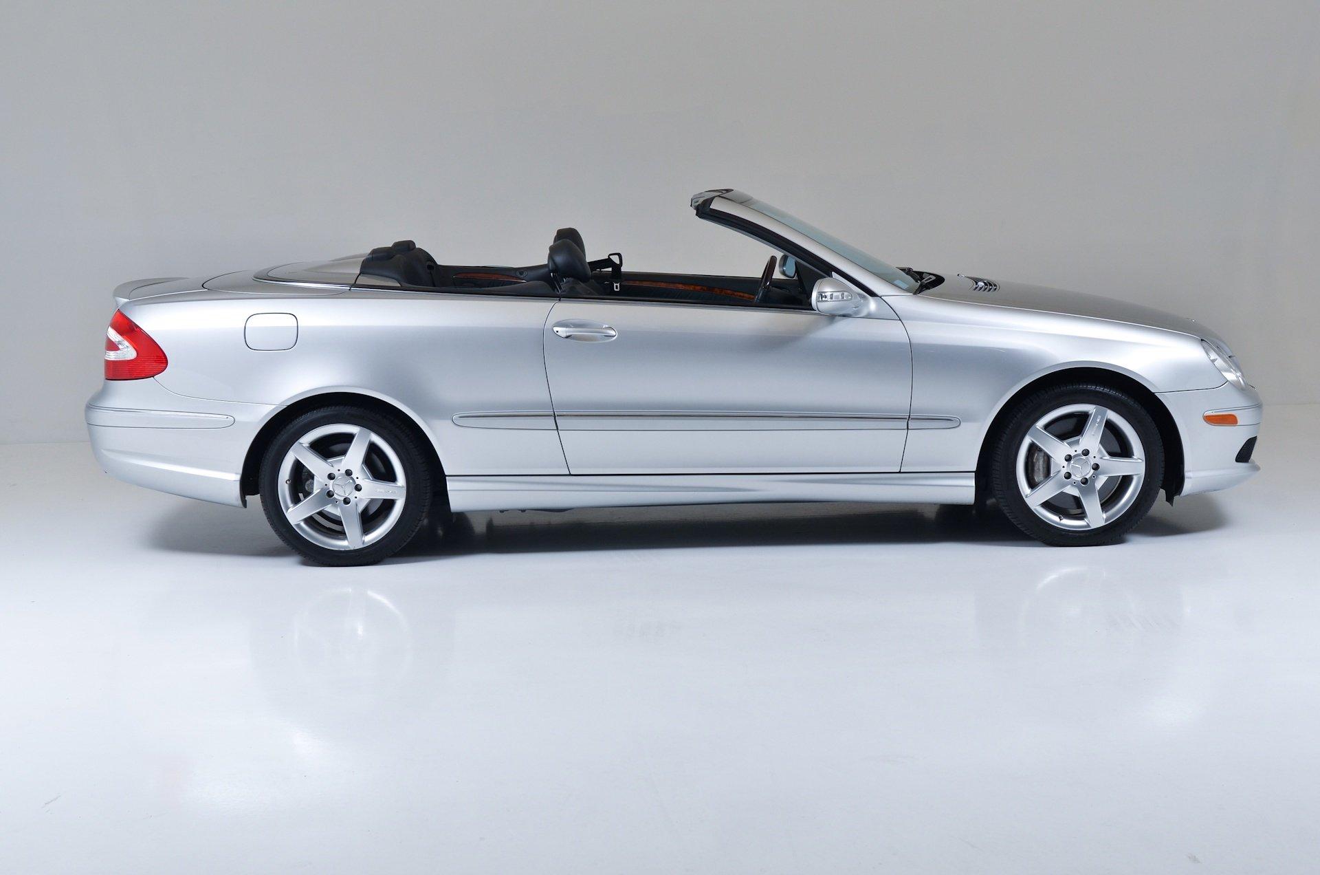 2005 mercedes clk 500 convertible silver cars wallpaper. Black Bedroom Furniture Sets. Home Design Ideas
