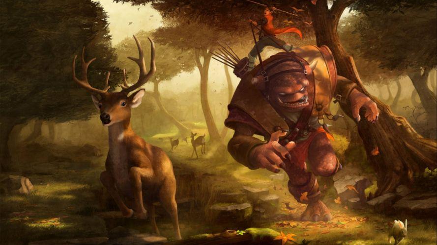 fantasy original art artistic artwork wallpaper