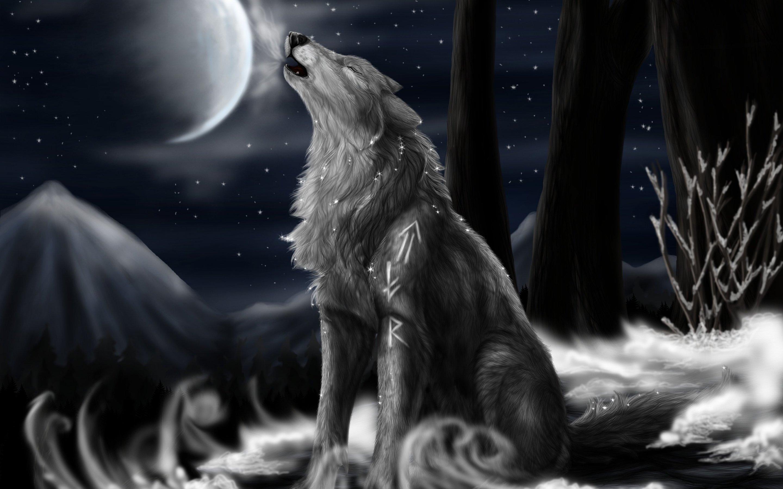 Fantasy Fan Art: Fantasy Wolf - Fanpop