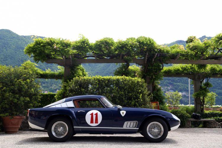 1957 Ferrari 250-GT Tour de France Louvre classic cars wallpaper