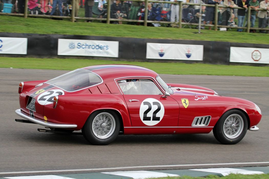 1957 Ferrari 250-GT Tour de France Louvre classic cars wallpaper