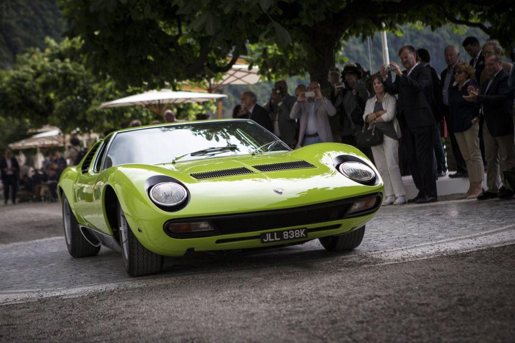 1971 Lamborghini Miura Sv Classic Cars Green Wallpaper 1536x1024