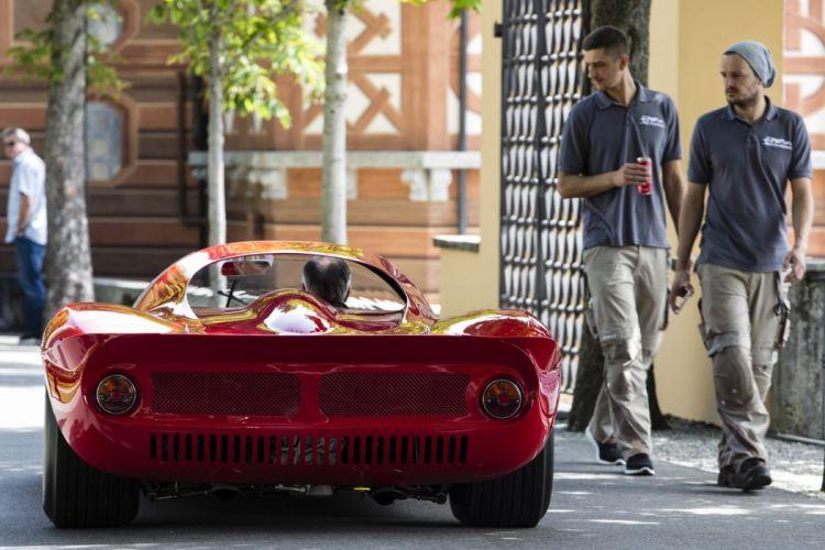 1976 Ferrari Dino 206-S red classic cars wallpaper