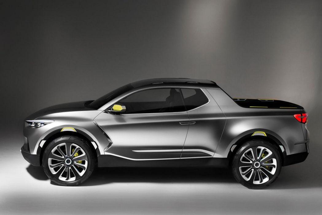 Hyundai Santa Cruz Crossover Truck Concept cars 2015 wallpaper