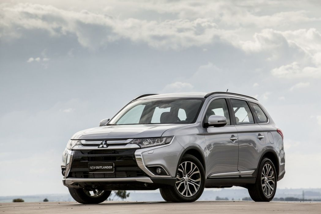 Mitsubishi Outlander BR-spec 2015 cars suv wallpaper