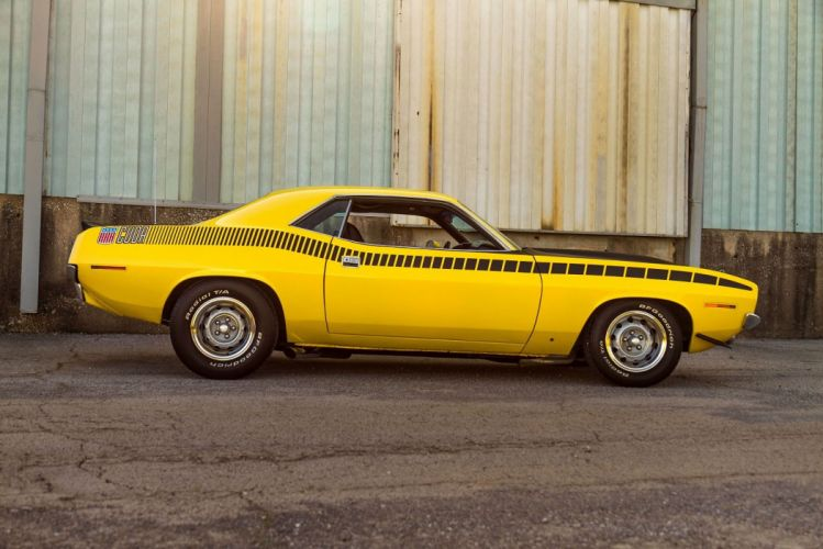 1970 Plymouth AAR Cuda classic coupe cars muscle wallpaper