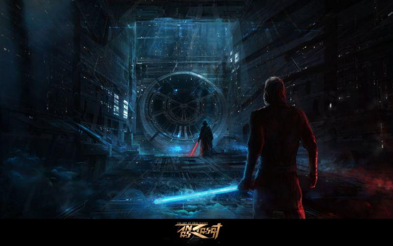 STAR WARS sci-fi futuristic artwork d wallpaper