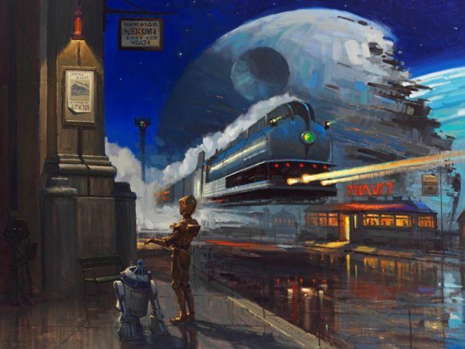 STAR WARS sci-fi futuristic artwork disney d wallpaper