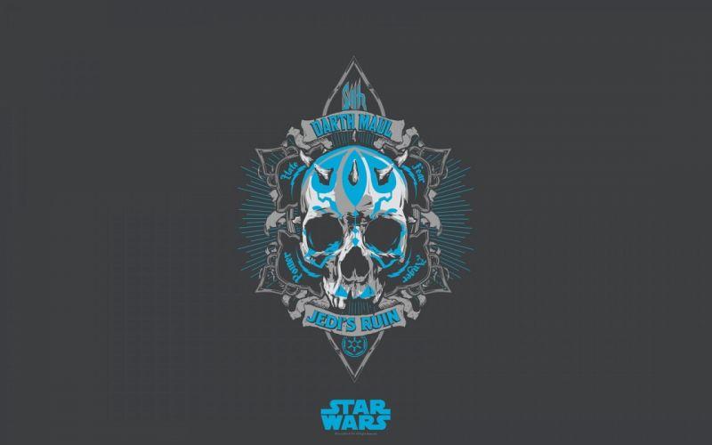 STAR WARS sci-fi futuristic artwork disney skull wallpaper