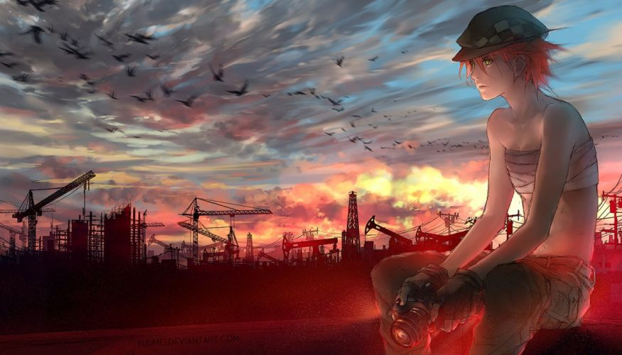 anime-anime-art-yuumei-artists- wallpaper