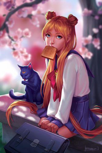 Sailor Moon anime usagi Tsukino wallpaper