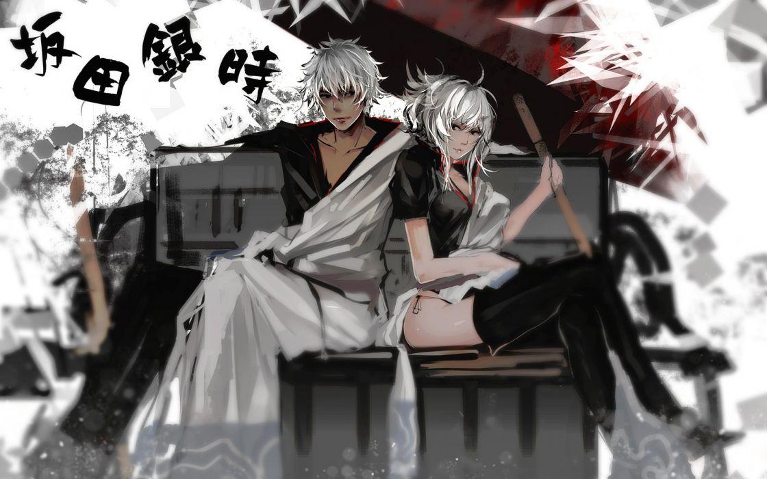 anime-Gintama-Sakata-Gintoki- wallpaper