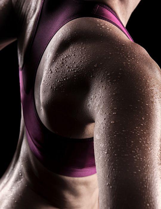 SPORTS - girl women fitness exercise training sweat wallpaper