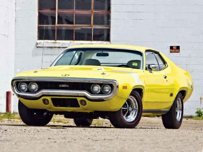 1971 440+6 cars classic Coupe gtx hemi muscle plymouth wallpaper