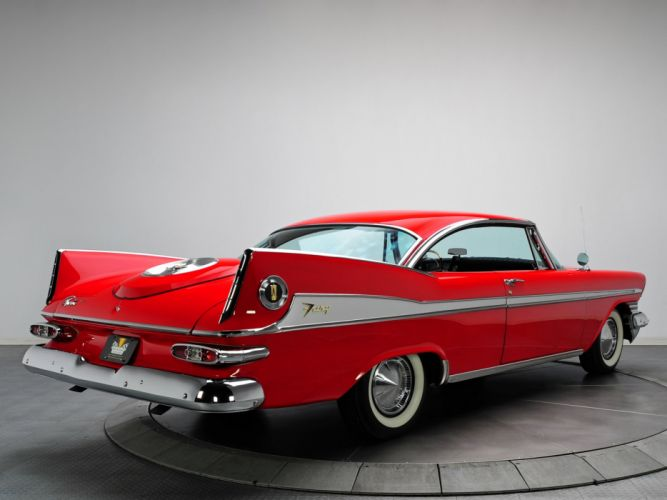 Plymouth Sport Fury Hardtop Coupe 1959 classic cars wallpaper
