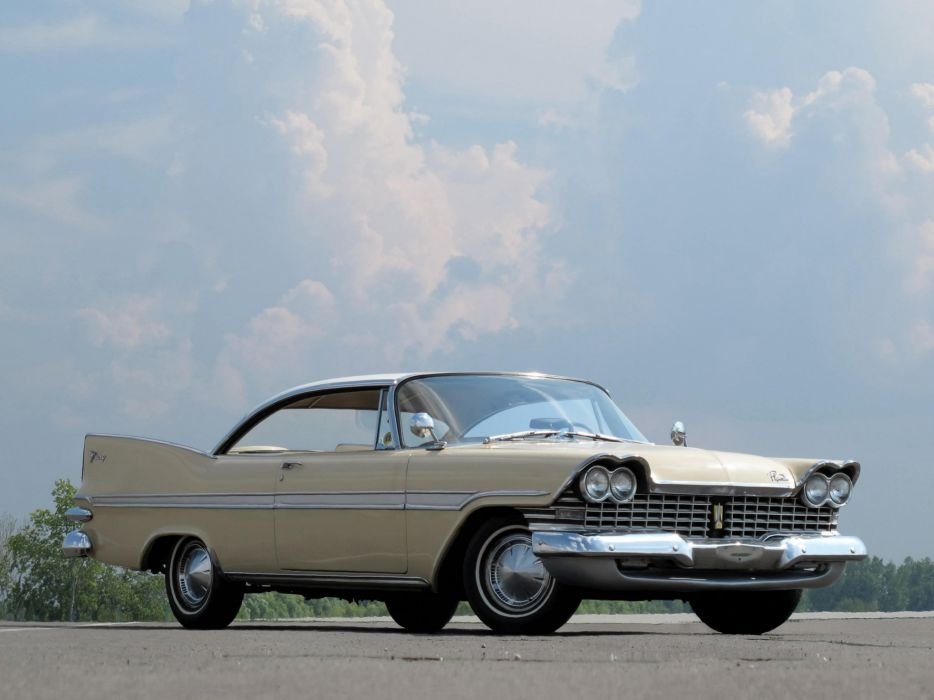1959 Plymouth Fury Hardtop Coupe cars classic wallpaper