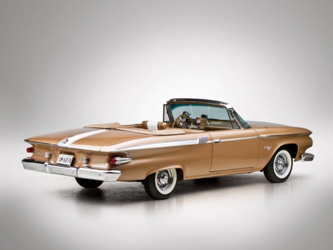 Plymouth Fury Convertible 1961 classic cars red wallpaper