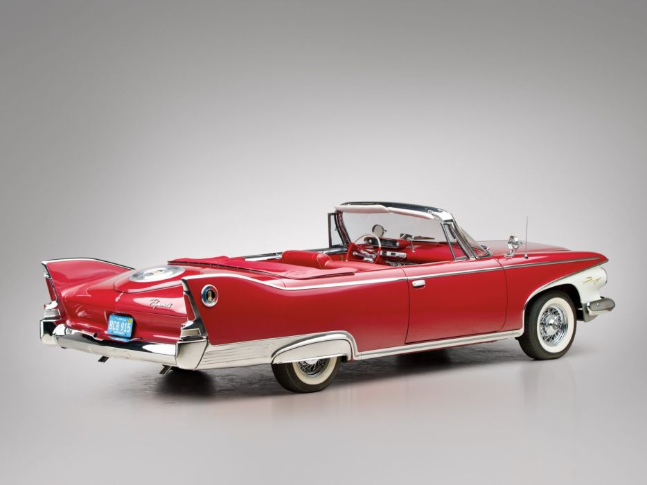 Plymouth Fury Convertible 1960 classic cars red wallpaper