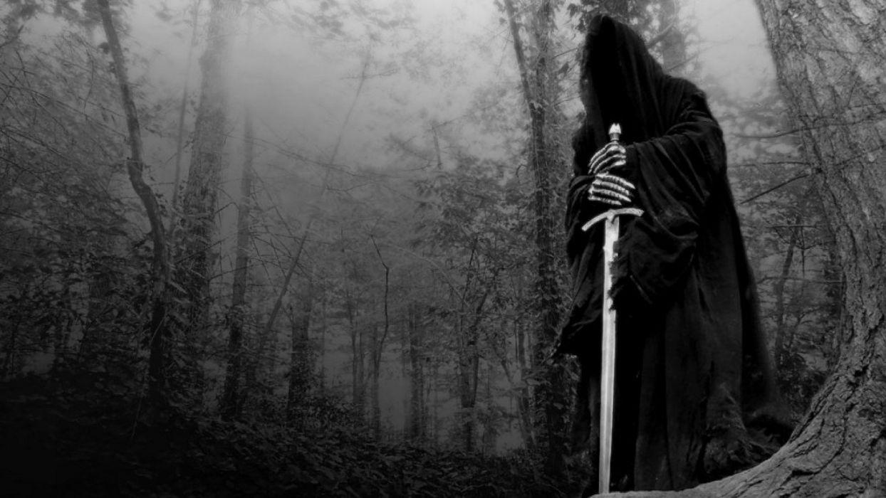 Dark Gothic Death Sword Wallpaper 1920x1080 704267