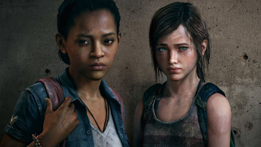 games The Last of US girls friends wallpaper