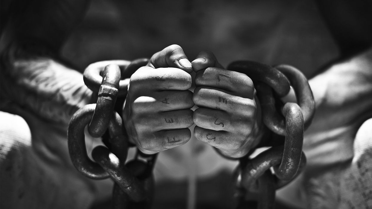 HANDS - fearless chained wallpaper