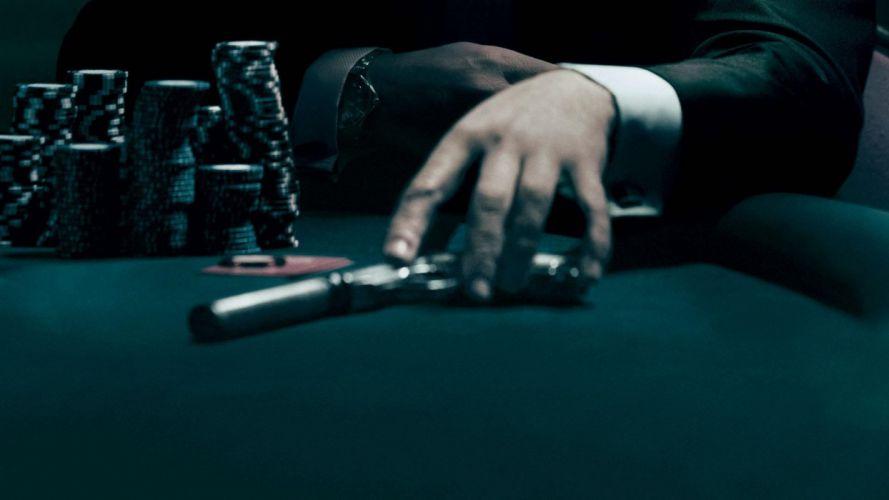 HANDS - guns gambling cards chips pistol wallpaper