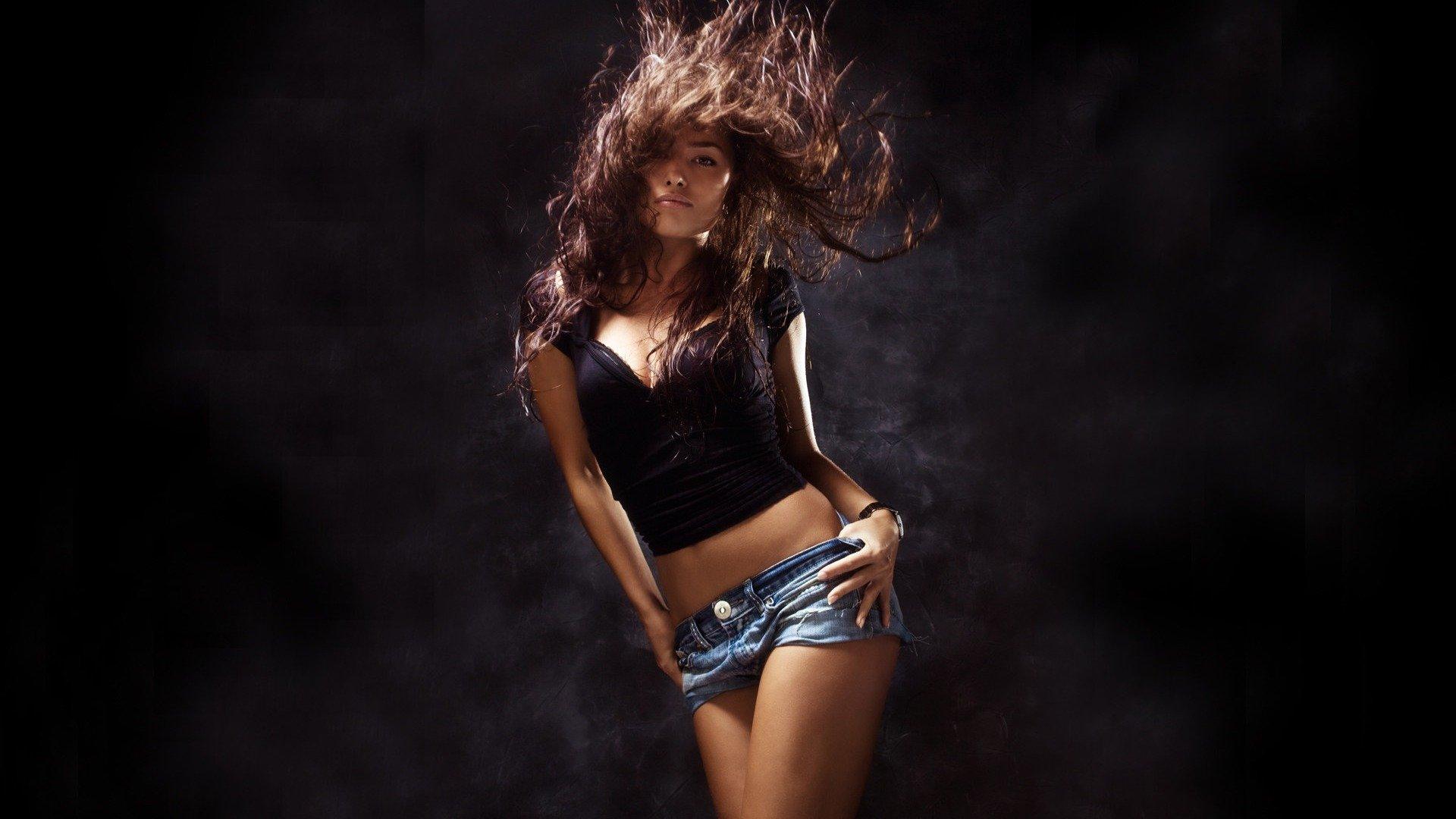hip hop style figures trend dance short girl belly wallpaper
