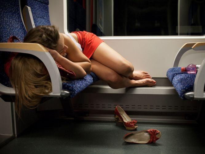 legs travel sleeping chair shoes women girls blonde wallpaper