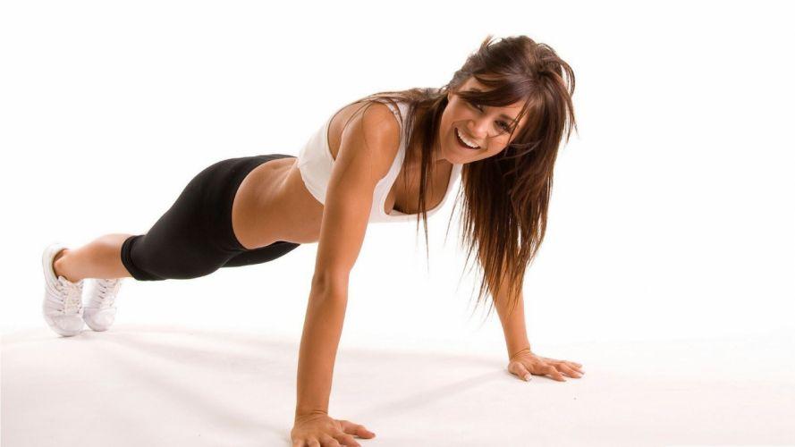 SPORTS - Fitness push-ups wallpaper