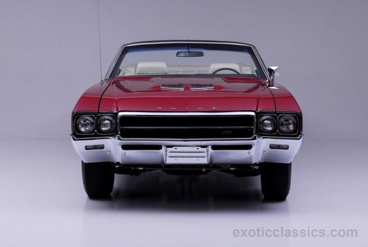 1969 Buick Gran Sport GS400 convertible red classic cars wallpaper