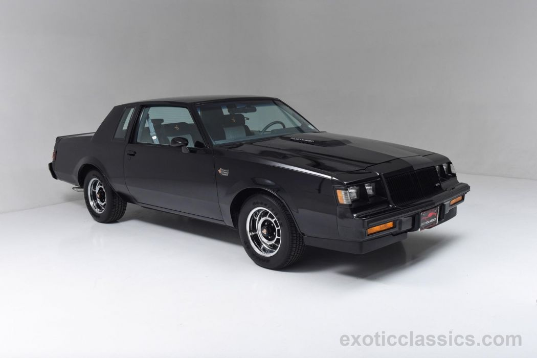 1987 Buick Grand National hard top classic cars black wallpaper