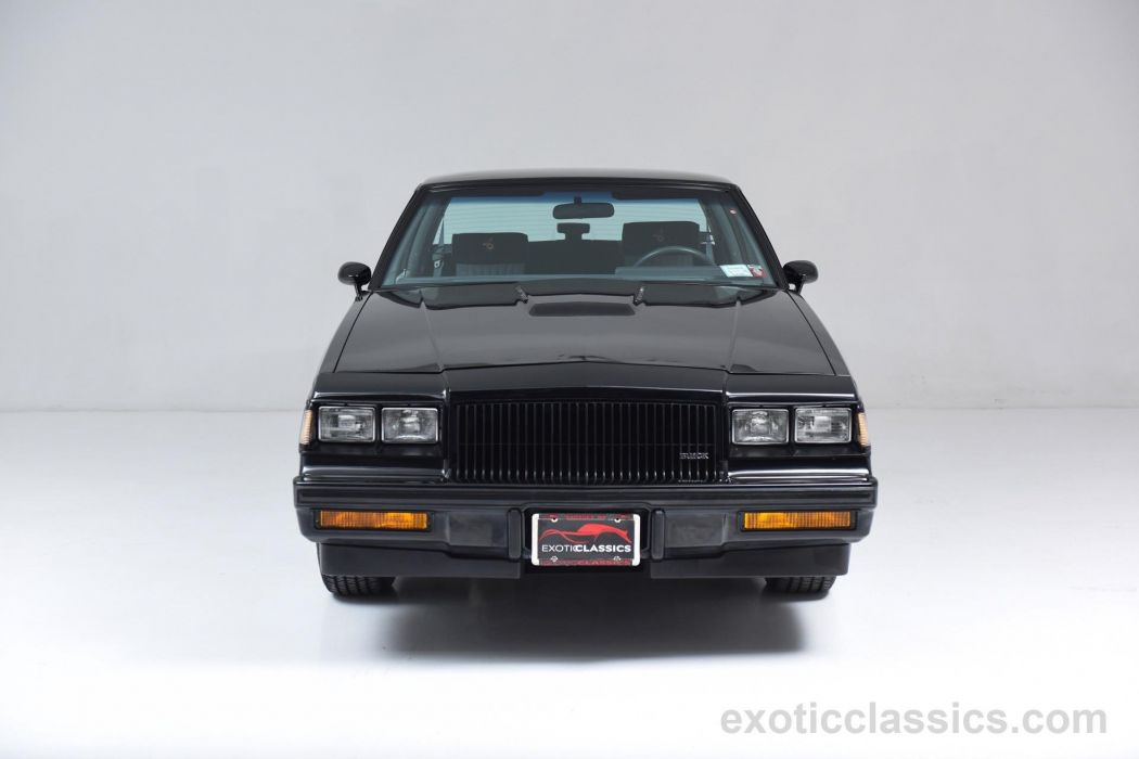 1987 Buick Grand National hard top classic cars black wallpaper